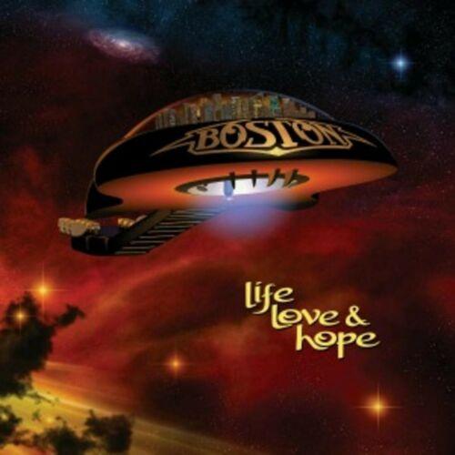 BOSTON Life Love & Hope BANNER HUGE 4X4 Ft Tapestry Fabric Poster Flag cd album