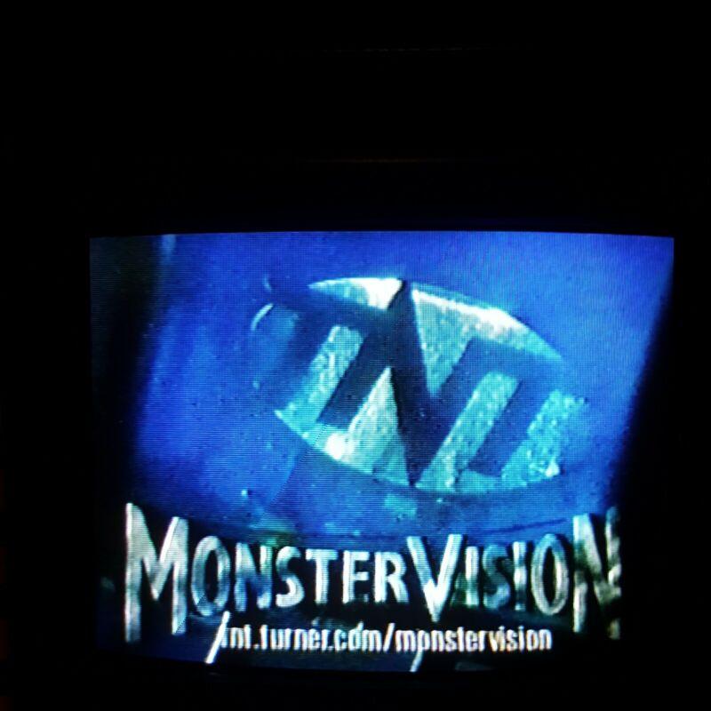 VHS Sold As Blank MONSTERVISION Joe Bob Briggs ~ Godzilla vs. Mothra