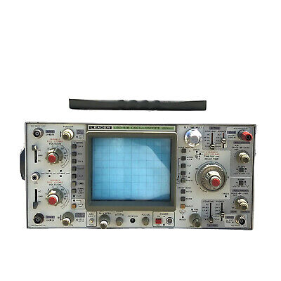 Leader Lbo-518 Portable Benchtop 100mhz 4-channel Oscilloscope Unit