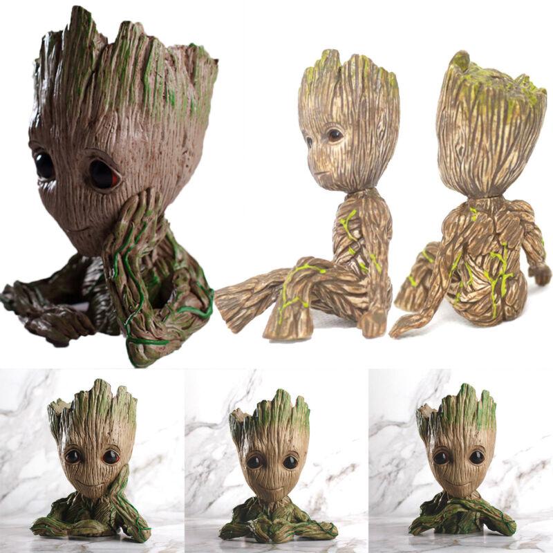 Guardians Of The Galaxy Marvel Baby Groot Kinder Blumentopf Stifthalter Figuren