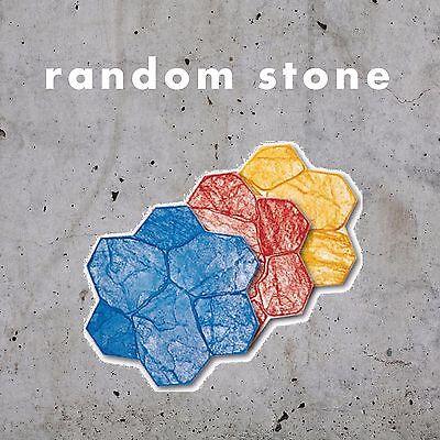 Original Random Stone 4 Piece Concrete Stamp Set Sale