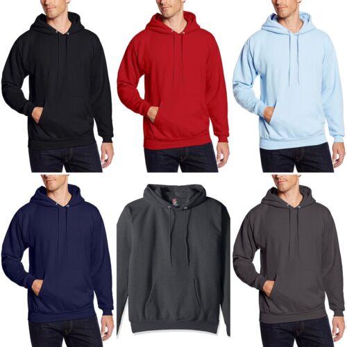 Hanes EcoSmart Fleece Pullover Hoodie Sweatshirt L - CHOOSE