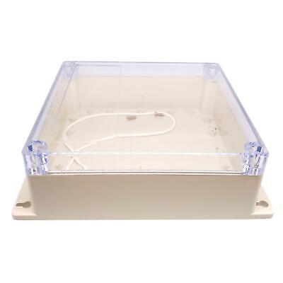Us Stock 1pc Plastic Project Box Electronic Enclosure Case Diy 70 X 188 X 192mm