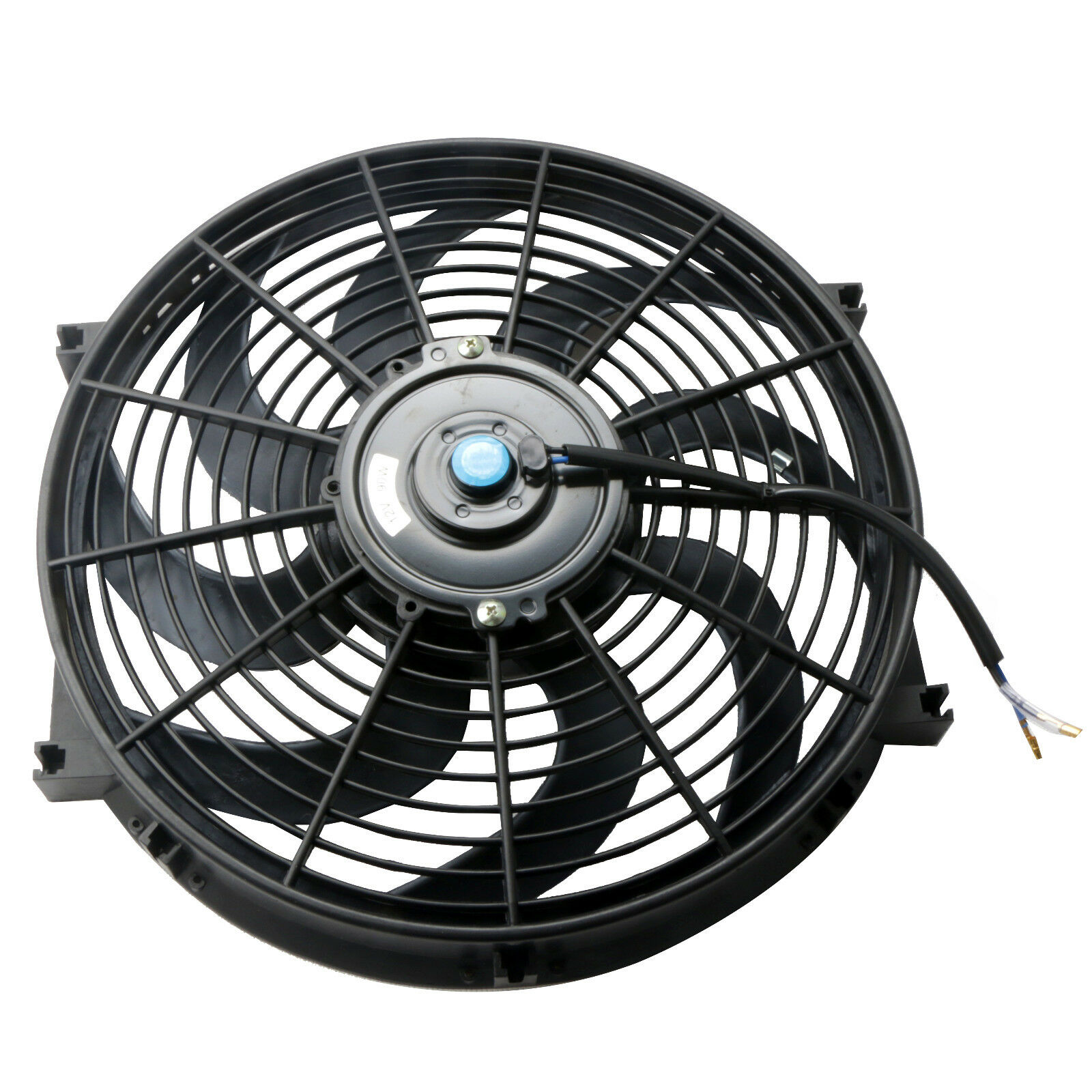 2 Pcs 10 inch Electric Radiator Cooling Fan /&Mount Kit Universal Slim Push Pull