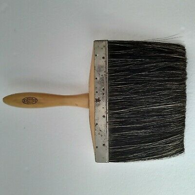 Hookers Doles Co. Dutch Dash Brush Horse Hair For Plastering Masonry Stucco Tool