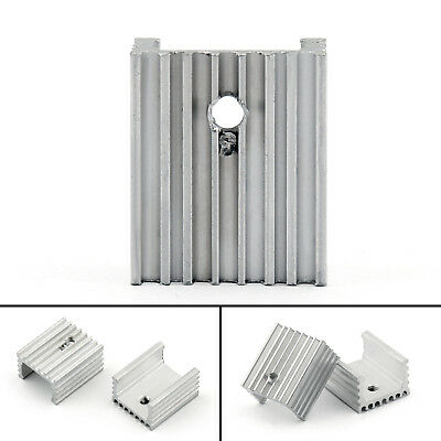 10pcs Heat Sink Cooler 15x10x18mm Radiator For Power Cpu Transistormosfetic Ue