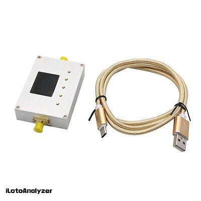 100khz-10ghz Rf Power Meter Settable Attenuation Value 0.96 Oled Rf-10000-v2.0