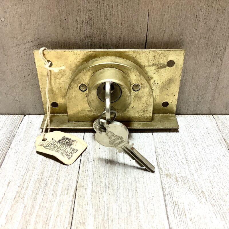 EAGLE LOCK Co Antique Chest Drawer Cabinet Furniture Antique NOS Keeper & Keys
