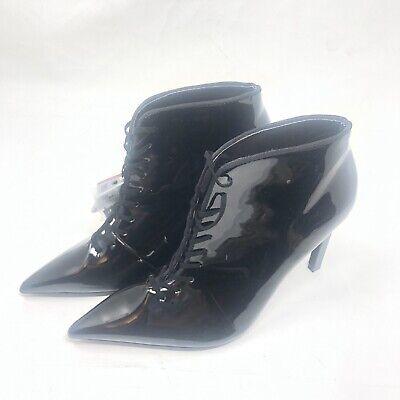 Zara Womens Shoes Sz 6 Black Ref 3100/301