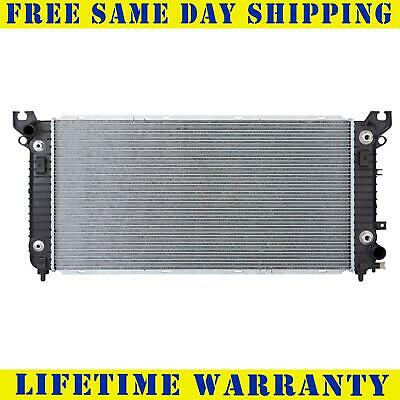 Radiator For 2014 2017 Chevy 1500 Tahoe GMC Sierra Yukon Escalade 53L 62L