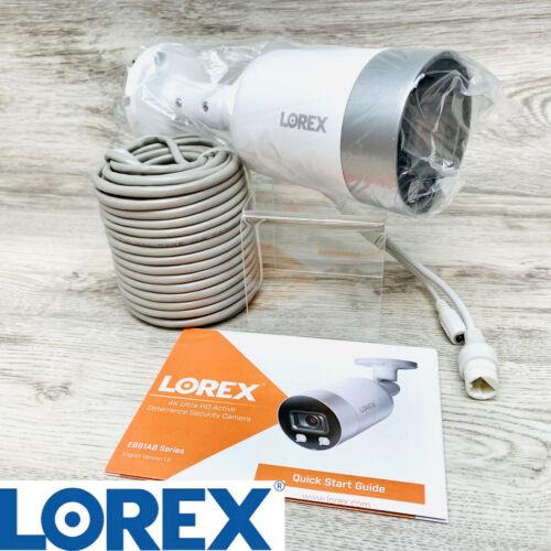 Lorex 8MP Smart 4K Ultra HD IP Night Vision Security Video C