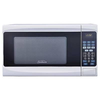 Sunbeamamp174 07cu Ft 700 Watt Digital Microwave Oven White Sgs10701