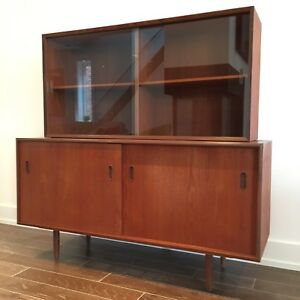 Vintage Mid Century Punch Designs Sideboard and Hutch