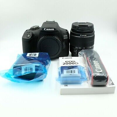 Canon EOS Rebel 2000D/T7 DSLR Camera with 18-55mm Lens *MINT CONDITION*