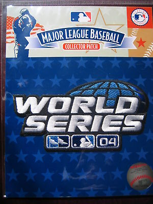 MLB Official 2004 World Series Patch Red Sox Cardinals 2004 World Series Patch