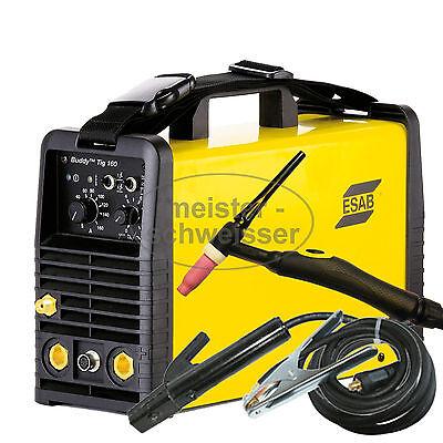 ESAB Buddy TIG 160 HF WIG und EH Inverter Schutzgas Schweißgerät