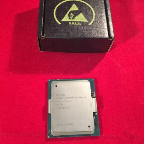 Intel Xeon E7-8867v3 16 Core 2.5ghz 45mb 8gt/s Fclga2011 Processor Cpu Sr228 ***