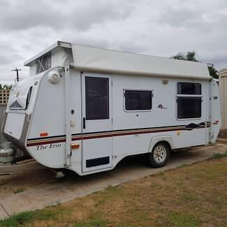 Avan poptop caravan
