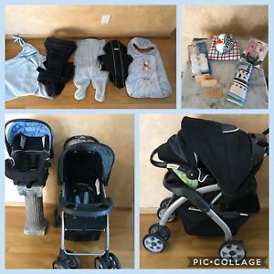 HUGE Baby lot- Lux Onboard 35 Stroller & Car seat, Bjorn & MORE