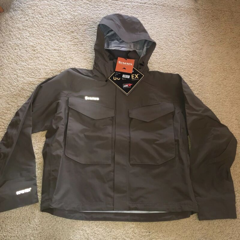 Simms Guide Jacket - XXL - Brand New with Tags! - GORE-TEX WATERPROOF