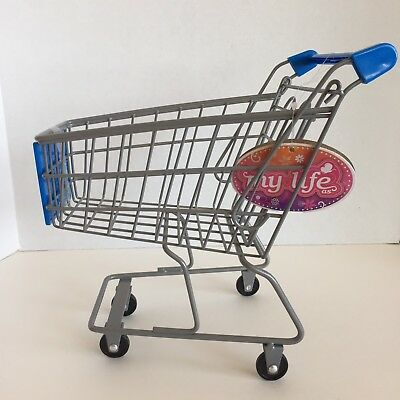 18  Doll Size Rolling Shopping Grocery Cart Walmart My Life As Girl Dolls New