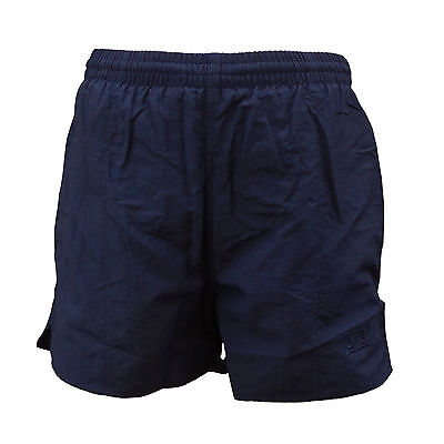 CHEX Mens Navy Blue Mesh Lined Swimming Casual Sports Shorts 32