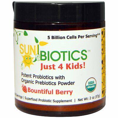 Just 4 Kids! Potent Probiotics with Organic Prebiotics Powde