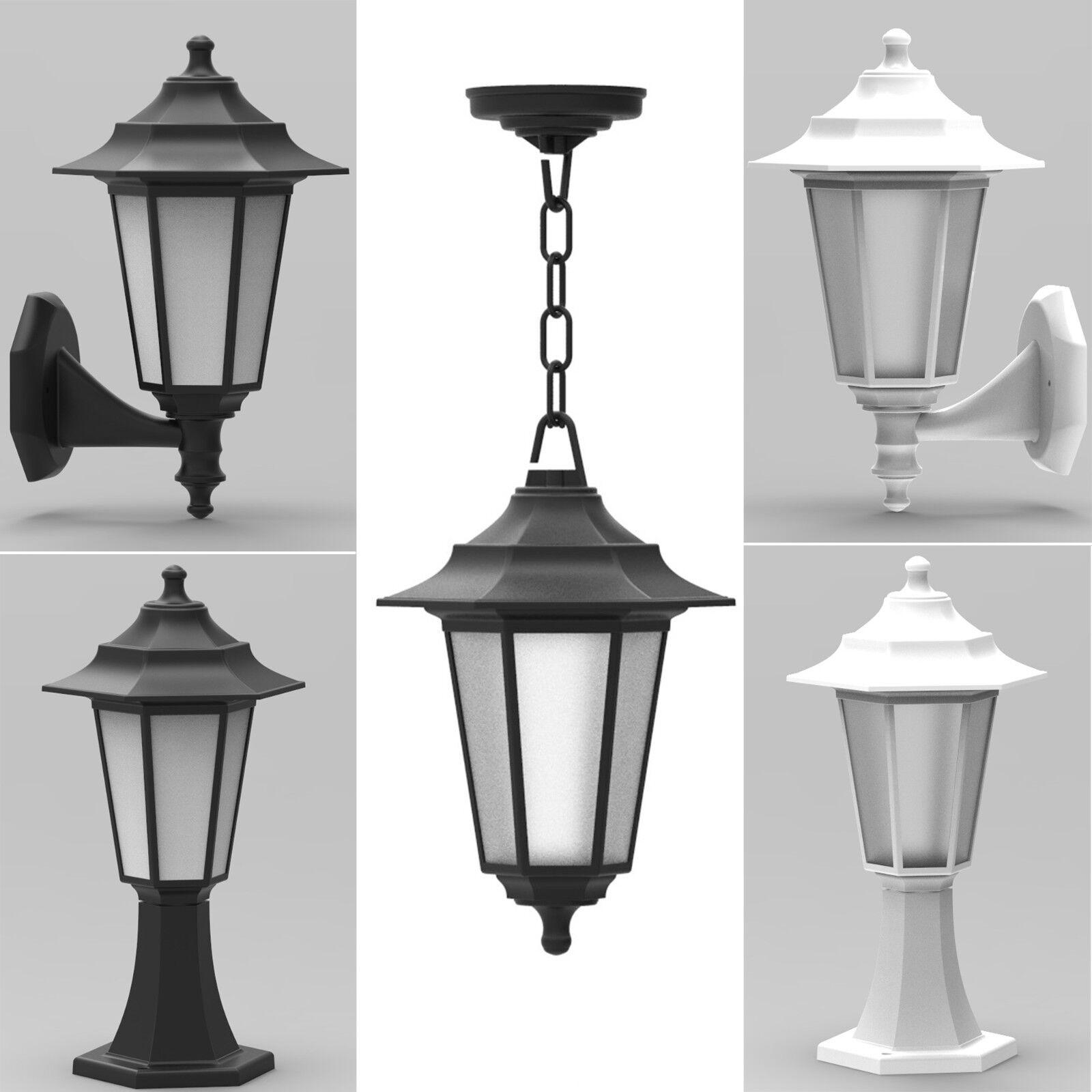 Außenlampe Außenleuchte Wandleuchte Standleuchte Garten Lampen Gartenleuchte