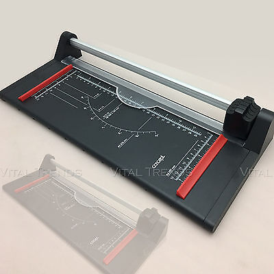 A3 / A4 Precision Rotary Paper Photo Trimmer Cutter Ruler Home Office Arts
