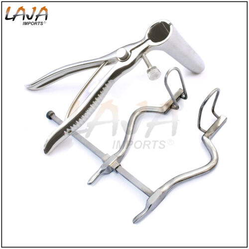 SIMS RECTAL SPECULUM & ANAL HOLE SPREADER For Anal Medical Examination, 2 Pcs