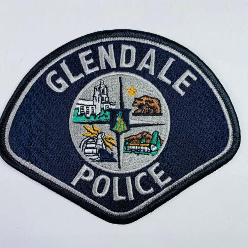 Glendale Police California CA Patch (C1-F)