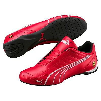 new mens puma ferrari future kart cat motorsport shoes rosso corsa red 306170
