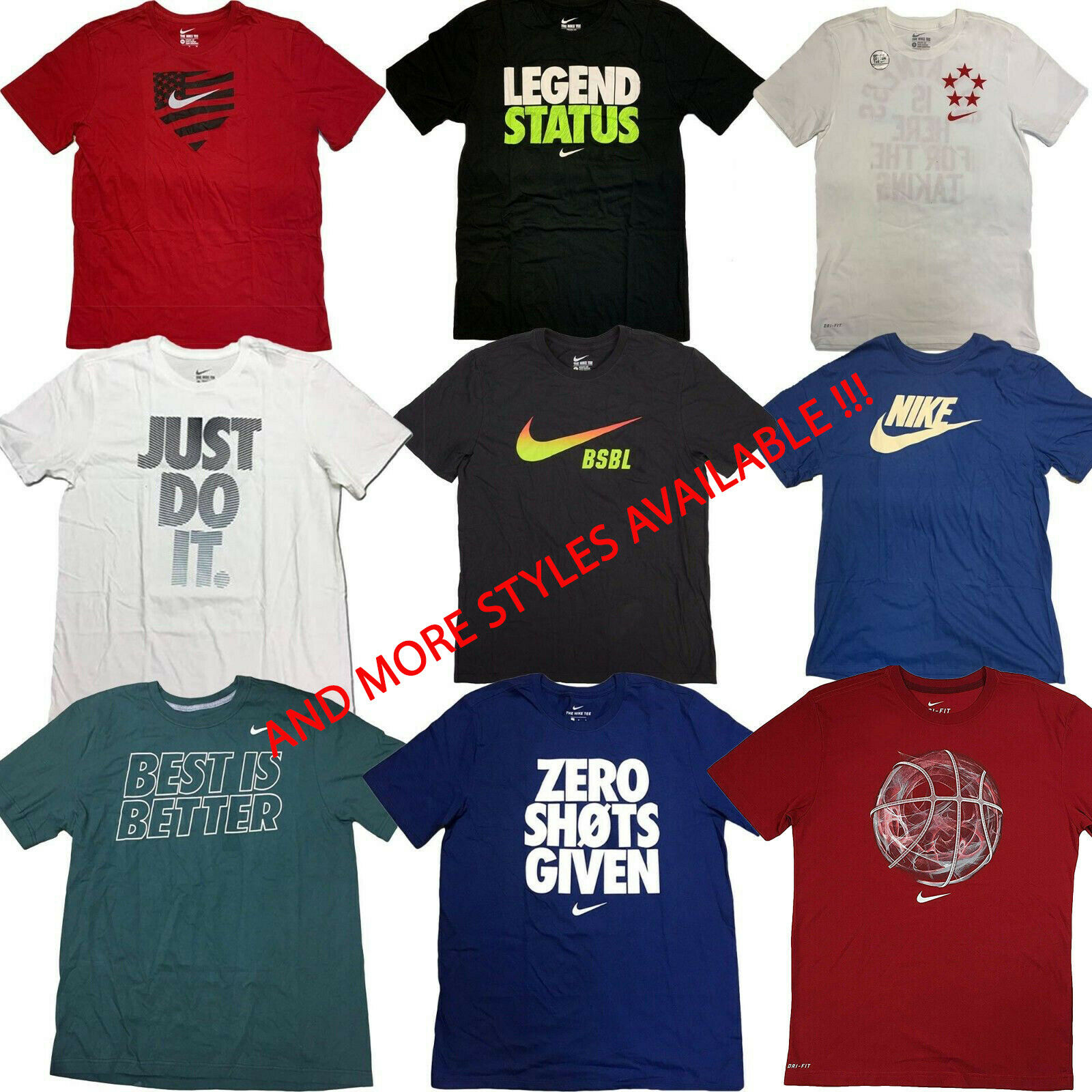 0282f978 Nike Mens Legend Swoosh Short Sleeve Running T Shirt – EDGE ...