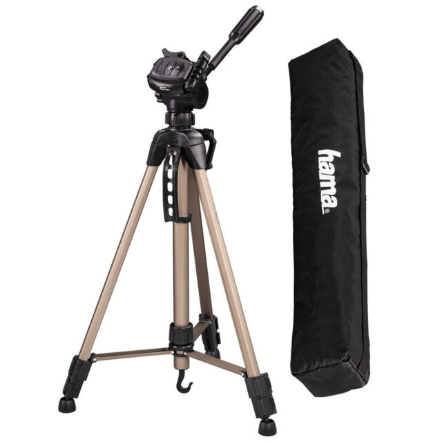 80033700cfb Hama Star 61 Universal Tripod Legs with Pan Head Kit for DSLR Camera Video  4161