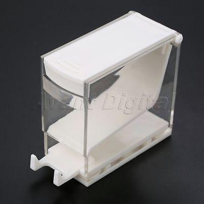 Dentist Cotton Rolls Dispenser Holder Storage Box Drawer Refillable Press Type