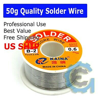6337 Tin Lead Line Soldering 0.6mm Rosin Core Solder Flux Welding Wire Reel Hot