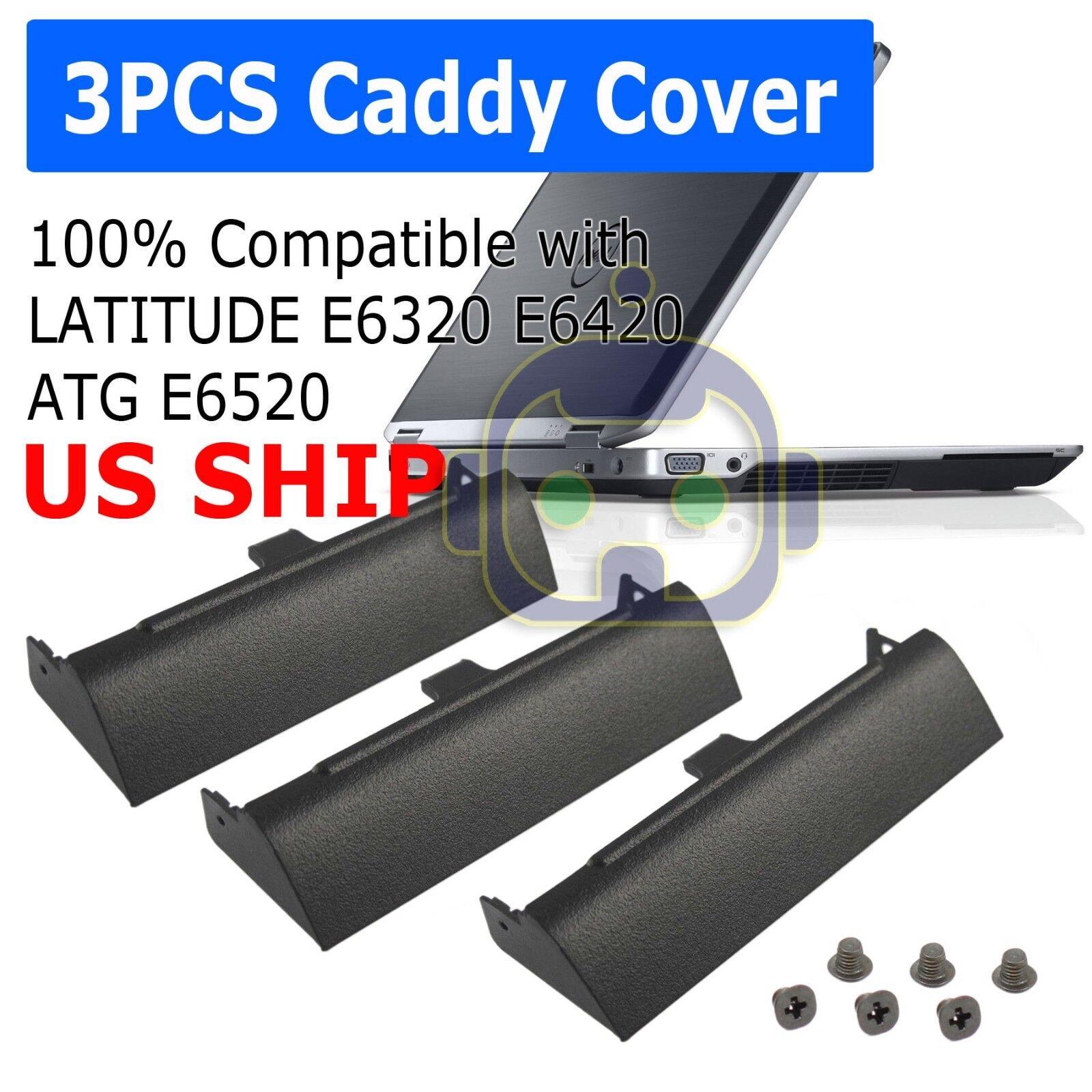 3 PCS HARD DRIVE CADDY COVER FOR DELL LATITUDE E6320 E6420 A