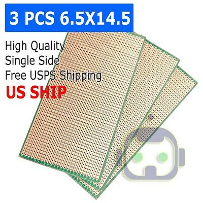 6.5x14.5cm Stripboard Veroboard Uncut Pcb Platine Single Side Circuit Perf Board