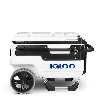 Igloo Marine White Trailmate 66 Litre All Terrain Cooler Fishing Outdoors Icebox