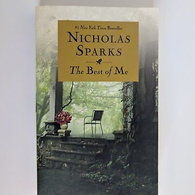 The Best of Me by Nicholas Sparks Paperback Edition Novel