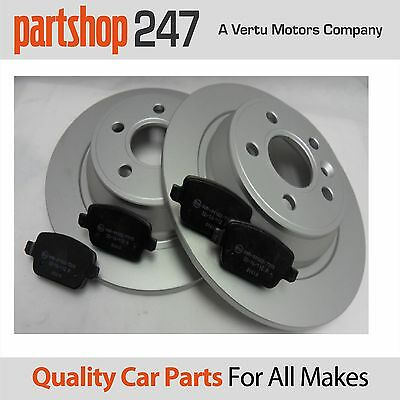 Genuine Comline Rear Brake Coated Discs and Pads FOR Ford Mondeo mk4 2007-2014