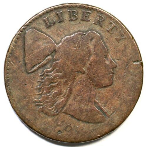 1794 S-28 R-2 Liberty Cap Large Cent Coin 1c