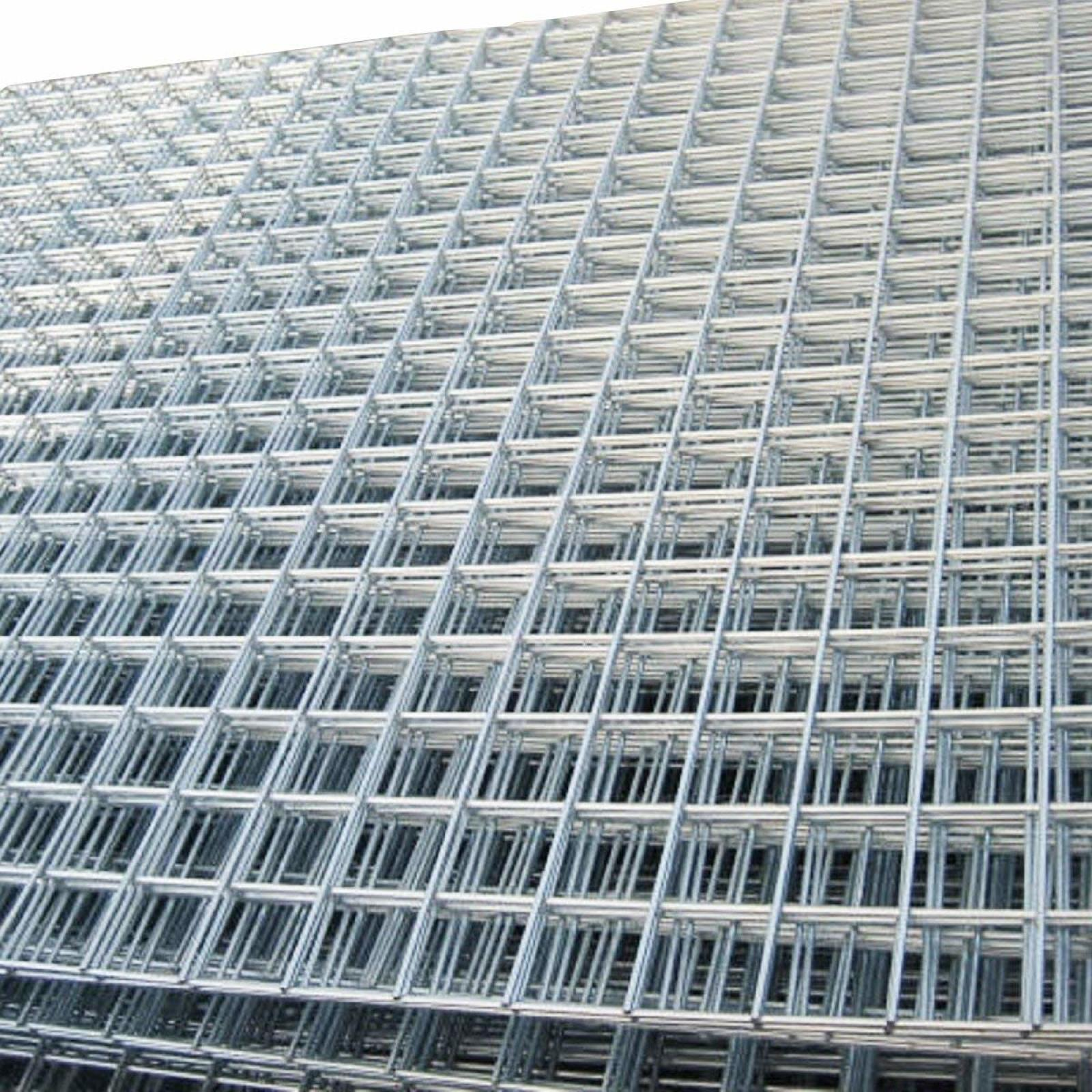 Welded Mesh Panels 6 Pack  8ft x 4ft Galvanised Steel Wire Metal Security Cages