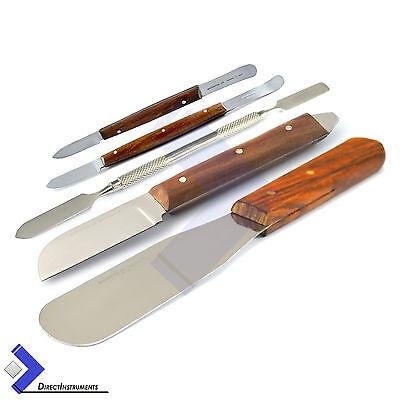 Plaster Alginate Knife Fahen Wax Cement Mixing Spatula Laboratory Hand Tools Kit