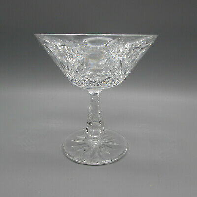 Waterford Crystal KENMARE Saucer Champagne Glasses - SET OF -