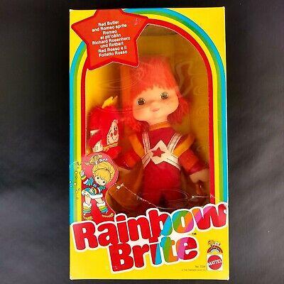 Vintage 1983 Mattel Rainbow Brite Red Butler and Romeo Sprite RARE VERSION!