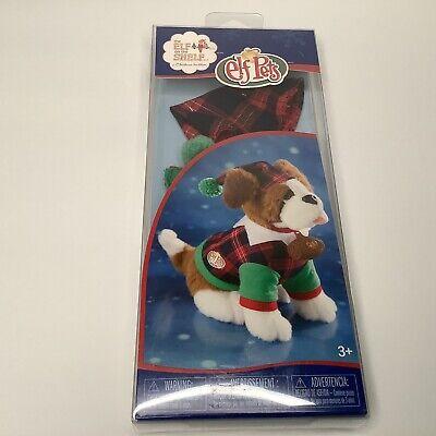 NEW! Elf Pets (Elf on The Shelf) Playful Puppy PJ's for St. Bernard-NIP!