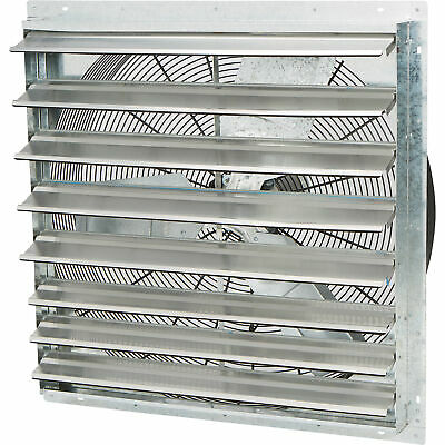 Strongway Enclosed Shutter Exhaust Fan 30in. 13 Hp 5300 Cfm