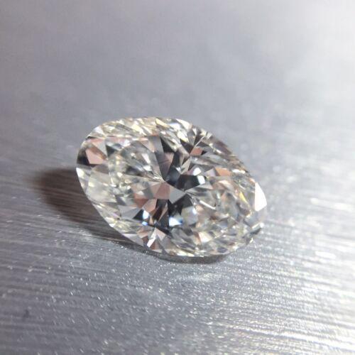 1.58 CARAT H VS2 GIA CERTIFIED OVAL CUT DIAMOND ENGAGEMENT RING SET IN PLAT 950 4