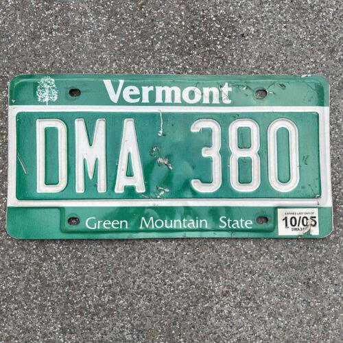 Original US Auto Kennzeichen Nummernschild USA 🇺🇸 Vermont Green Mountain State